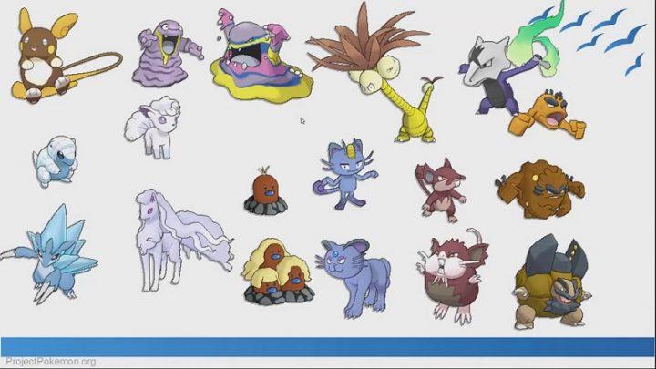 "Le varianti ""shiny"" dei Pokémon forma Alola"