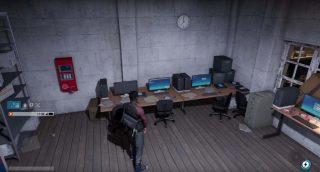 Stanza dei server in Watch Dogs 2